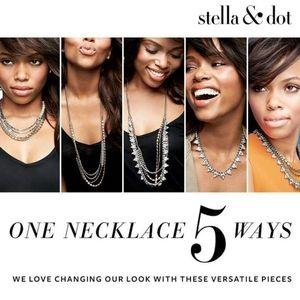 Stella & Dot Sutton necklace 5 in 1